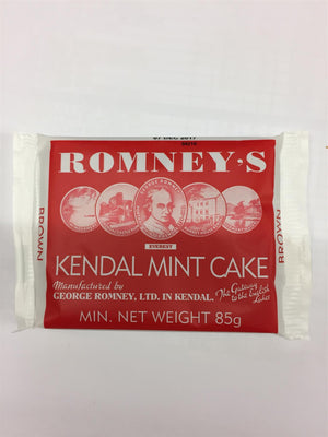 Romneys Kendal Mint Cake 85g MEDIUM - BROWN-Tamworth Camping