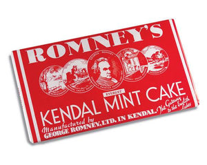 Romneys Kendal Mint Cake 480g GIANT BROWN BAR-Tamworth Camping