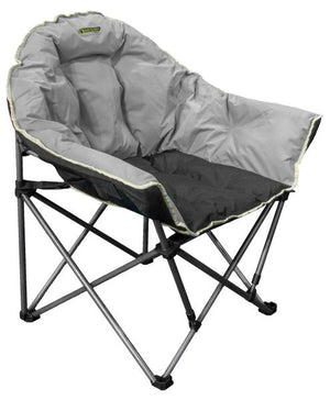 Quest Autograph Cleveland chair in black and grey-Tamworth Camping