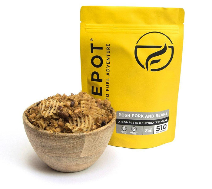 Firepot Posh Pork and Beans Regular Serving