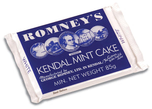 Romneys Kendal Mint Cake 85g MEDIUM - WHITE-Tamworth Camping