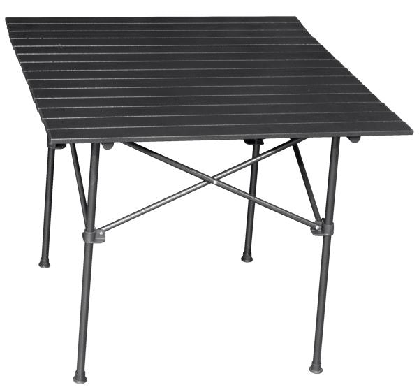 Quest Packaway medium slatted table