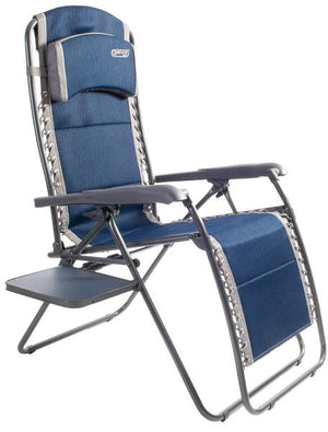 Ragley Pro Relax chair with side table-Tamworth Camping