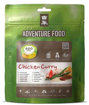 Adventure Food Chicken Curry - 1 Person Serving-Tamworth Camping