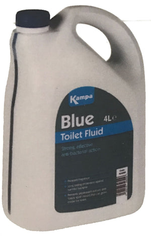 Kampa Blue Toilet Chemical 4L Formaldehyde Free-Tamworth Camping