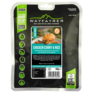 Wayfayrer Massaman Chicken Curry with Potatoes & Rice Ready-to-Eat Camping Food-Tamworth Camping