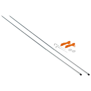 Vango Adjustable Steel King Poles 180-220cm-Tamworth Camping