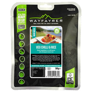 Wayfayrer Vegetable Chilli Ready-to-Eat Camping Food-Tamworth Camping