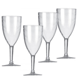 Vango Wine Glasses Clear Set of 4-Tamworth Camping