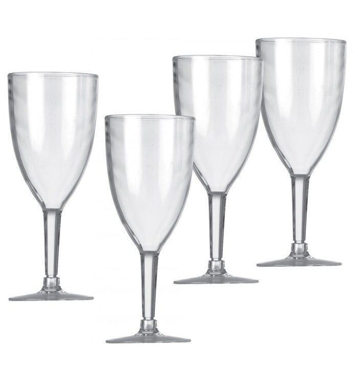 Vango Wine Glasses Clear Set of 4