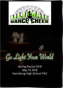 Ultimate Dance and Cheer Recital 2018