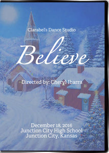 Clarabel's Dance Studio Winter Recital 2016