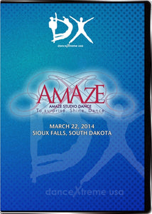 DX AMAZE Studio Dance Competition 2014 Build-a-disc