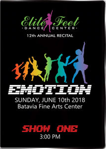 Elite Feet Dance Center Recital 2018