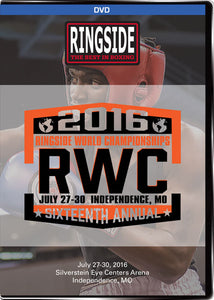Ringside World Championships 2016