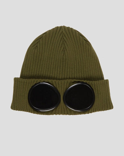CP Company Knit Hat in Khaki