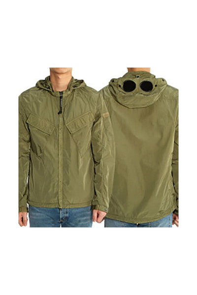 CP COMPANY - OVERSHIRT - CHROME GREEN