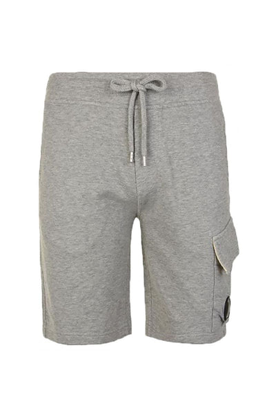 CP COMPANY LENS SHORTS - GREY