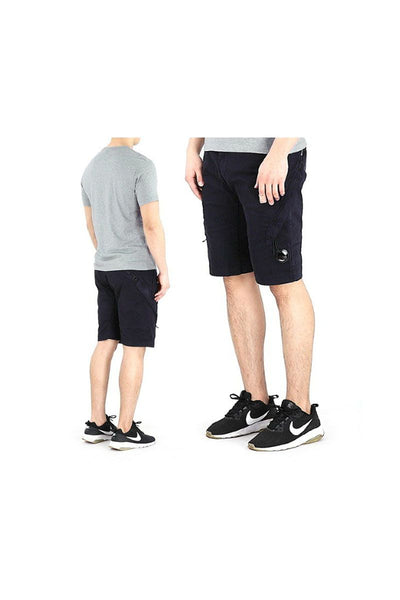 CP COMPANY - BERMUDA RASO STRETCH SHORTS