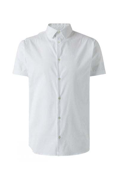 EMPORIO ARMANI SHORT SLEEVE SHIRT WHITE