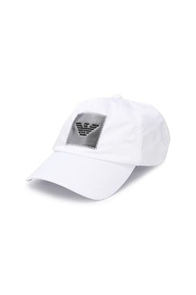 Armani Cap in White