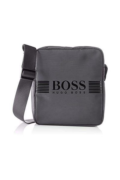 Hugo Boss - PIXEL_NS ZIP BAG - GREY