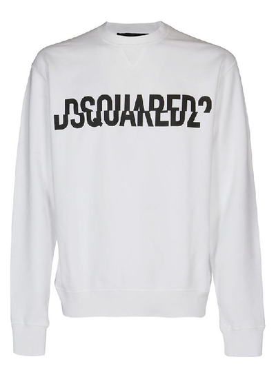 Dsquared2 White Sweater