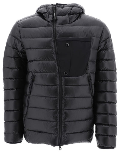 CP COMPANY-OUTERWEAR MEDIUM JACKET-BLACK