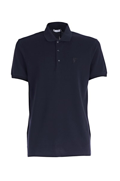 VERSACE COLLECTION POLO SHIRT DARK NAVY
