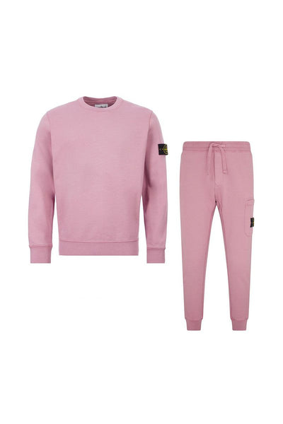STONE ISLAND - TRACKSUIT SET IN PINK