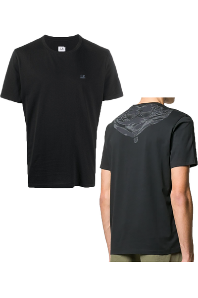 CP COMPANY T-SHIRT BACK PRINT- BLACK