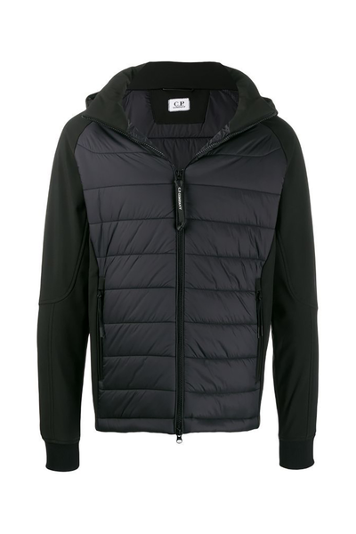 CP COMPANY MEDIUM SHELL JACKET-BLACK