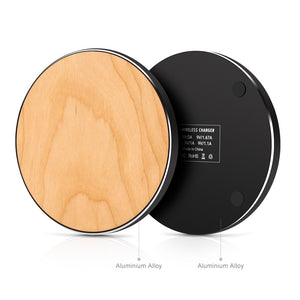 Metal Bamboo wireless charger