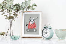 Load image into Gallery viewer, French Bulldog Art Print