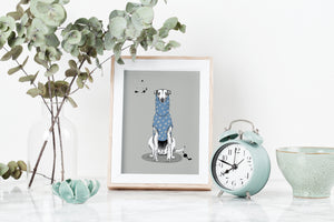 Woolly Pulley Art Print
