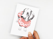 Load image into Gallery viewer, Dachshund Notebook
