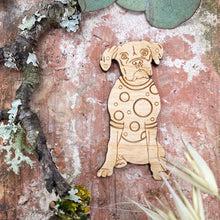 Load image into Gallery viewer, Boxer Dog Pin Brooch