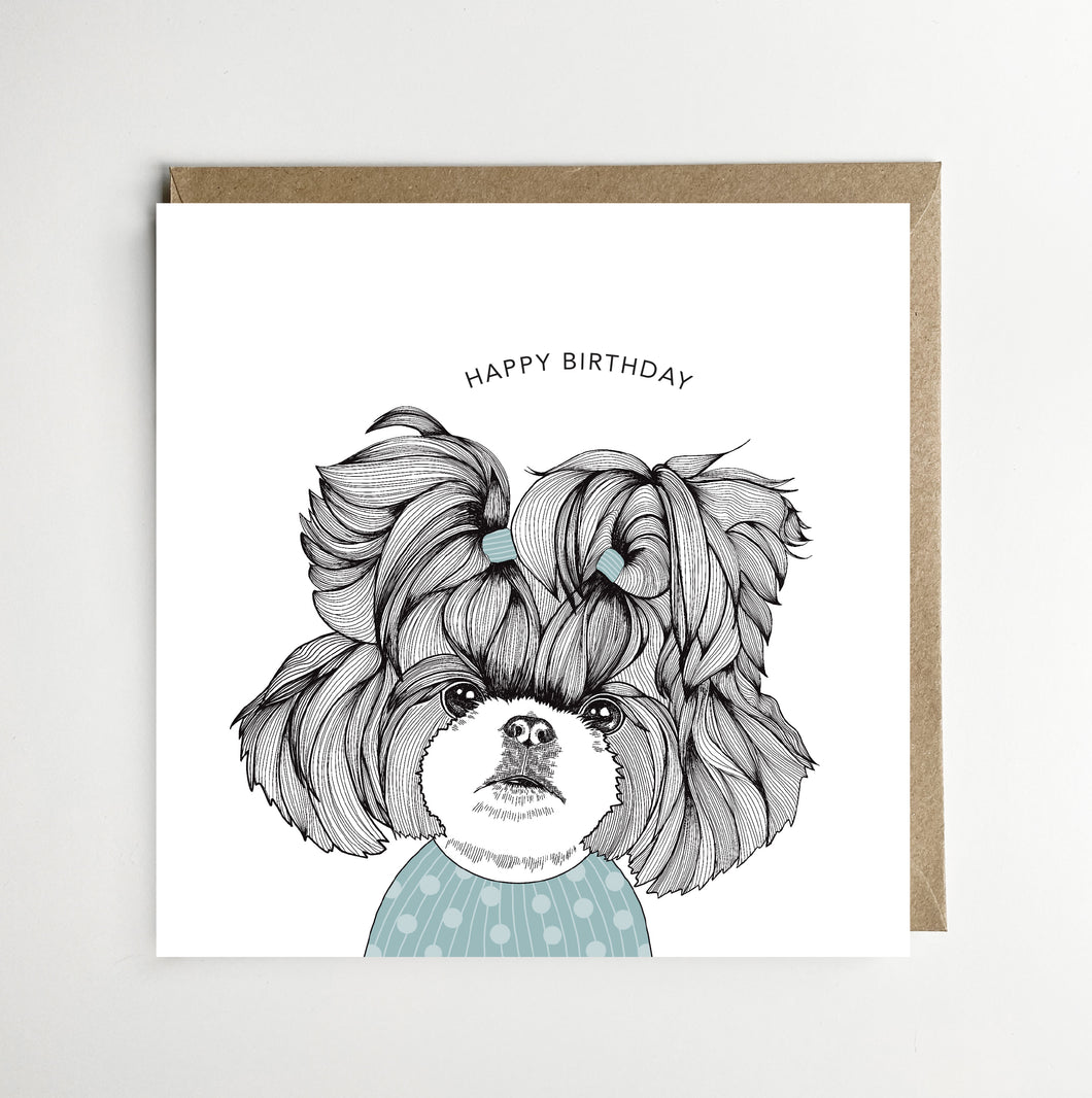 Happy Birthday Shih Tzu