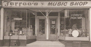 Ferree's Music Shop Store front circa 1946