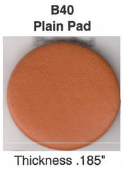 B40 (Assortments in Millimeter's) PLAIN SAX PADS-IMPORTED FELT