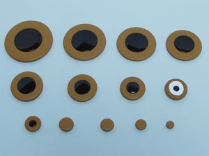 B52 38.5-54mm Thin Sax Pads with Selmer Type Plastic Resonator