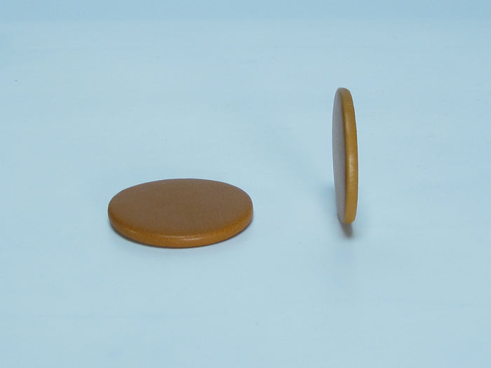 B40M 7-22mm Plain Sax Pads-Imported Felt