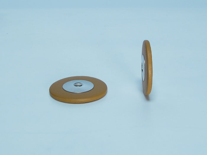 B46 7-22mm Domed Metal Resonator Thin Pad