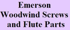 Emerson Woodwind Screws and Flute Parts