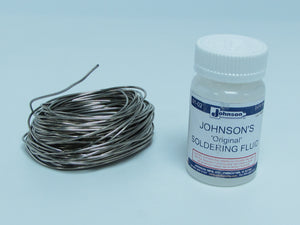 J60 Low Temperature Solder and Flux Kit