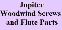 Jupiter Woodwind Screws and Flute Parts