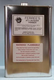 X71 Ferree's Lacquer Thinner  ***CANNOT SHIP BY MAIL - MUST SHIP GROUND***