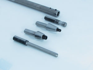 Z60-14 Straight Mandrel with 14A, 14B, 14C and 14D adaptors