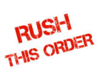 Rush Delivery (Order Total is less than $100.00)