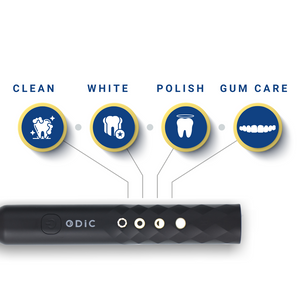 ODIC Sonic Powered Waterproof Toothbrush with Automatic Timer